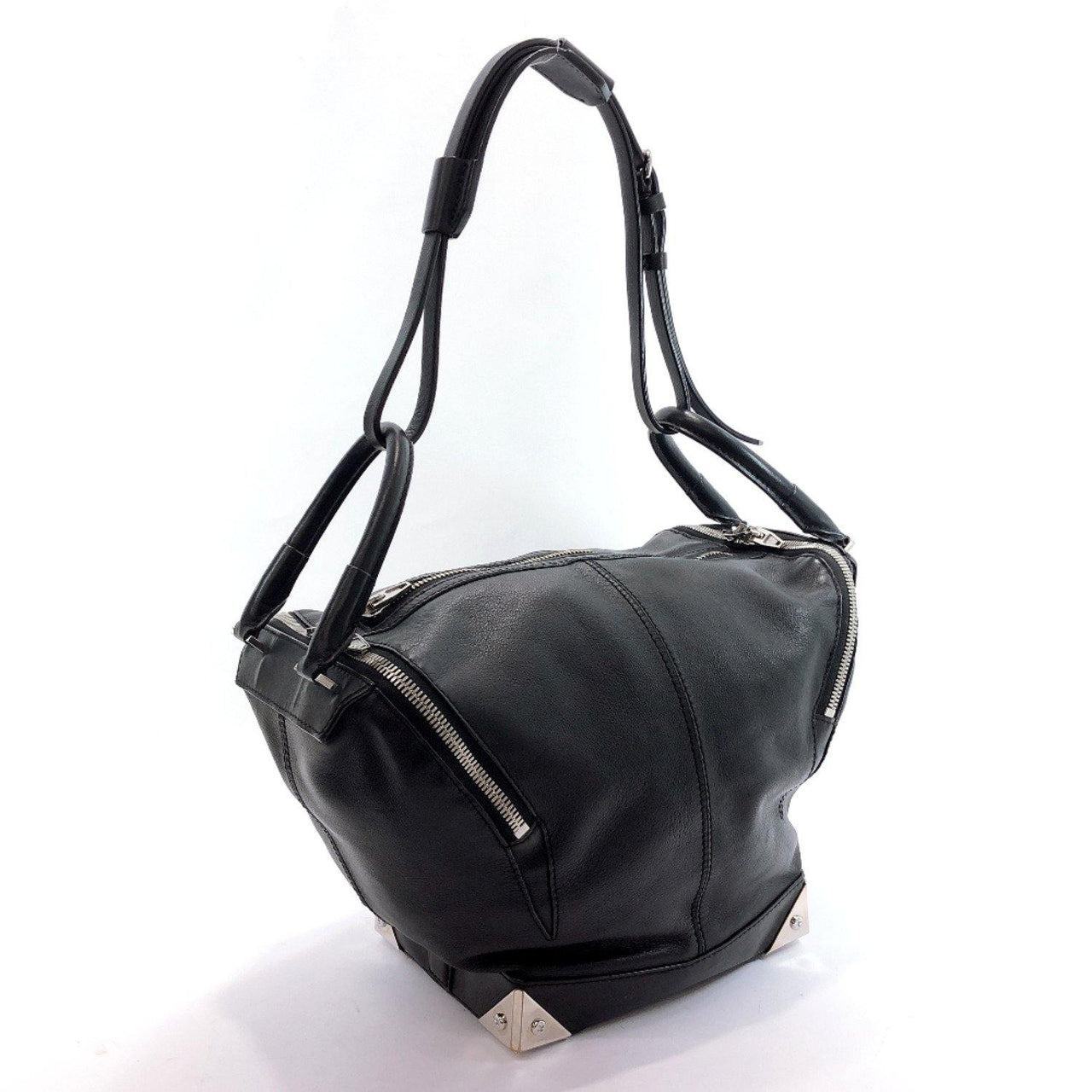 Alexander Wang Shoulder Bag 2way leather black SilverHardware Women Used