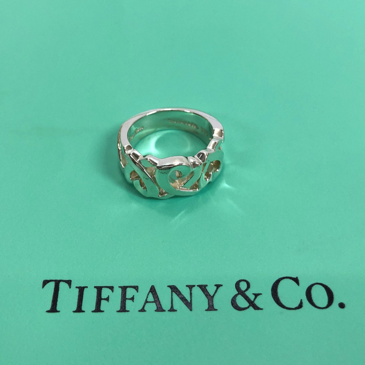TIFFANY&Co. Ring Paloma Picasso Silver925 C Silver Women Used