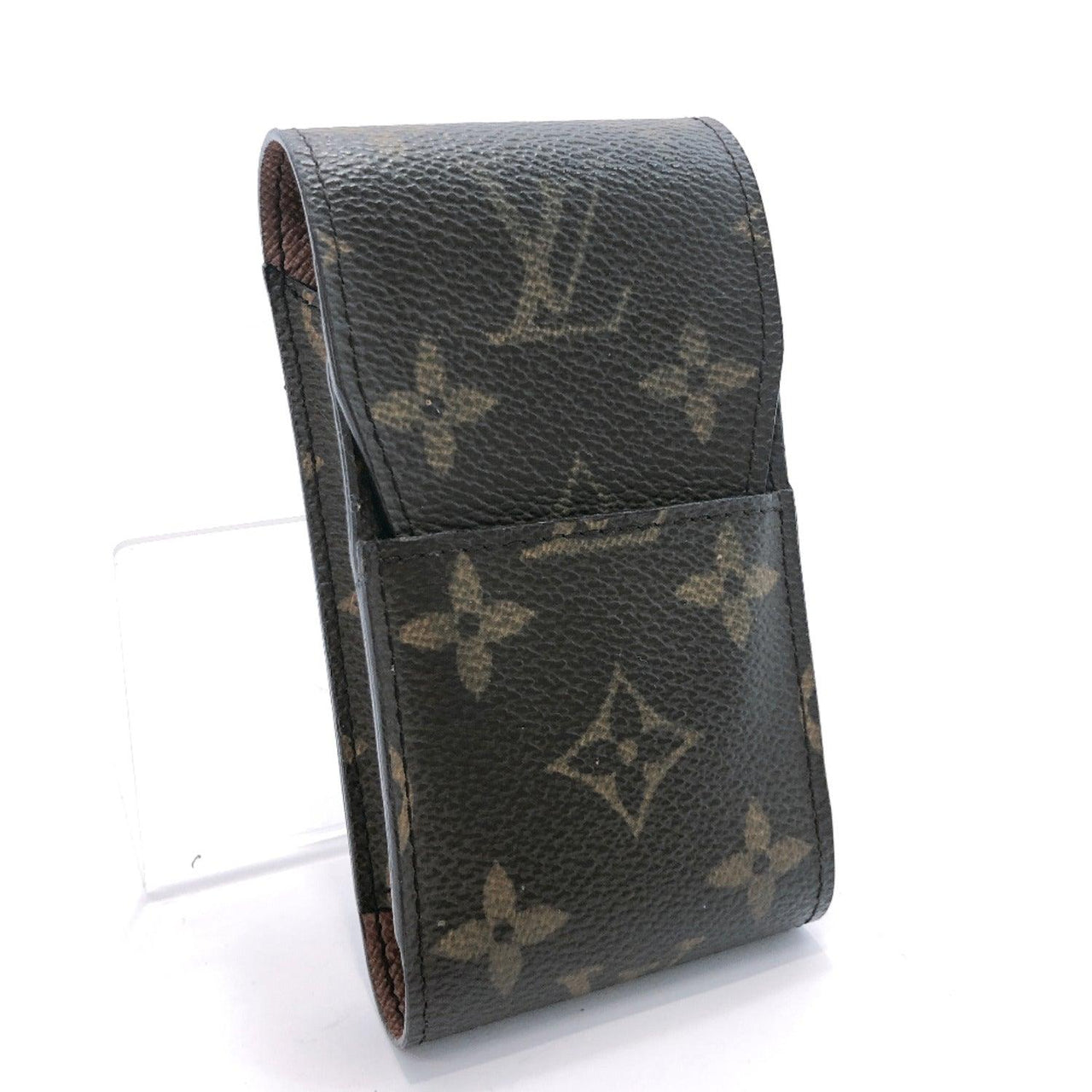 LOUIS VUITTON  M63024 Etui cigarette Cigarette case Monogram Brown Used