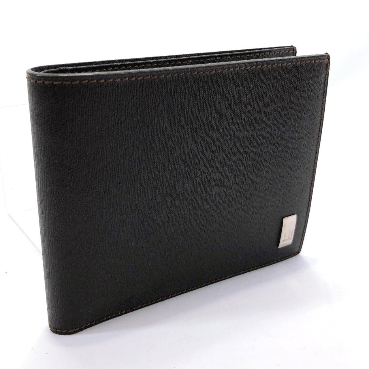 Dunhill wallet leather Brown mens Used