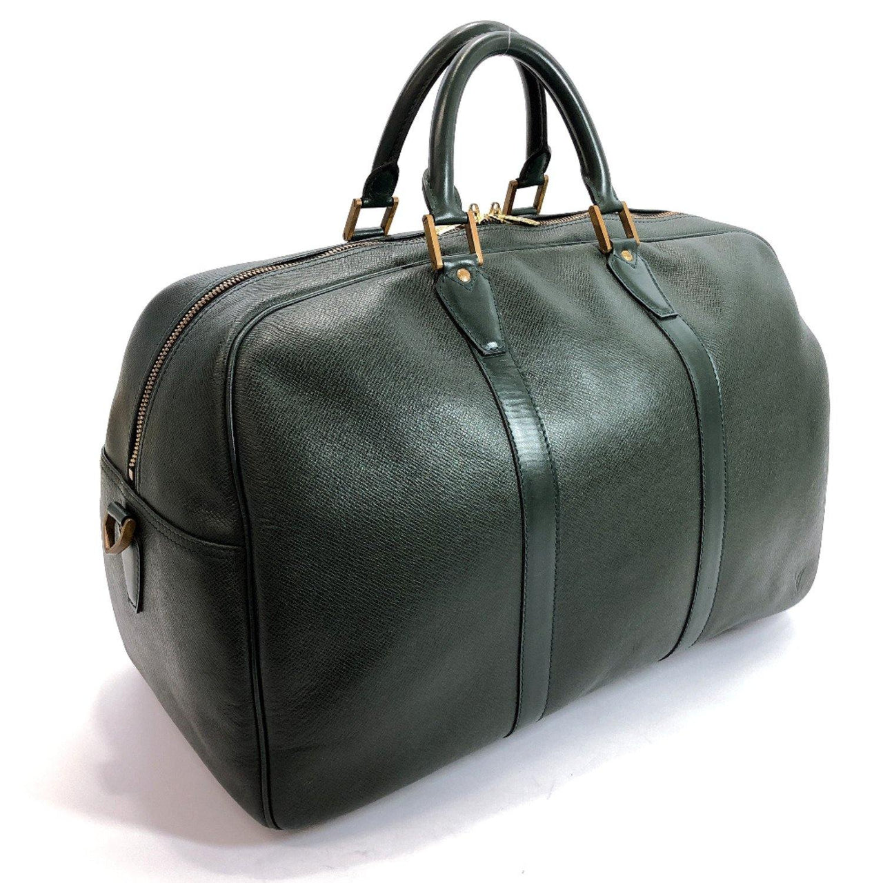 LOUIS VUITTON Boston bag M30124 Kendal PM Taiga green unisex Used - JP-BRANDS.com