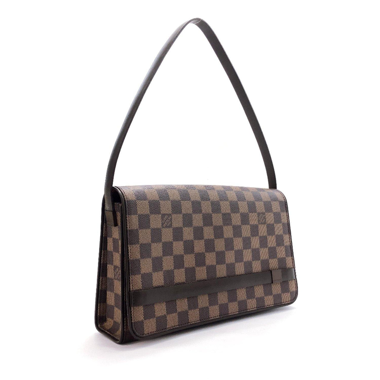 LOUIS VUITTON Shoulder Bag N51160 Tribeca Ron Damier canvas Brown Women Used