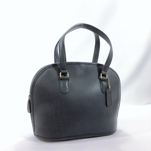 COACH Handbag Old coach leather Navy Women Used - JP-BRANDS.com