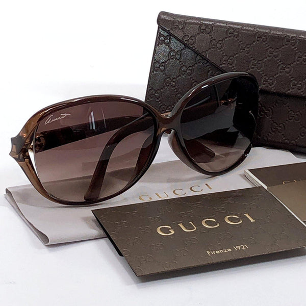 GUCCI sunglasses GG3792/F/S Synthetic resin Brown Women Used