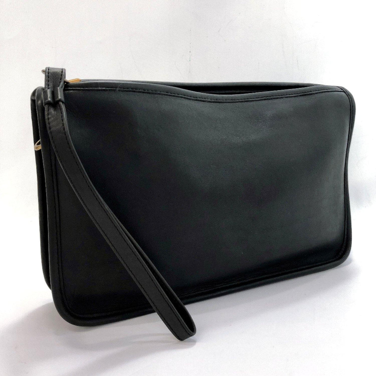 COACH Clutch bag Old coach leather Navy unisex Used - JP-BRANDS.com