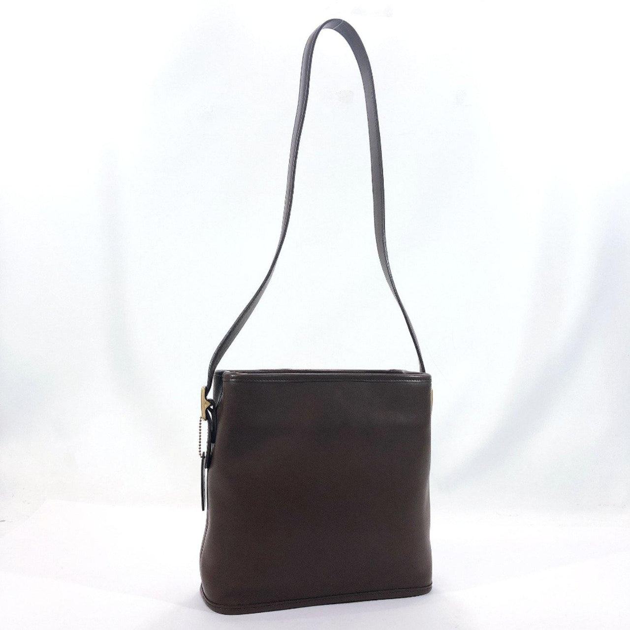 COACH Shoulder Bag leather Brown Women Used - JP-BRANDS.com