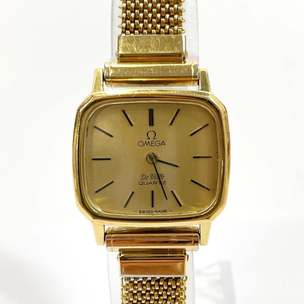 OMEGA Watches De Ville Vintage Quartz Stainless Steel gold Women Used