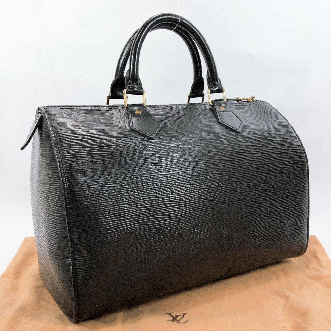 LOUIS VUITTON Handbag M59222 Speedy 30 vintage Epi Leather black Women Used - JP-BRANDS.com