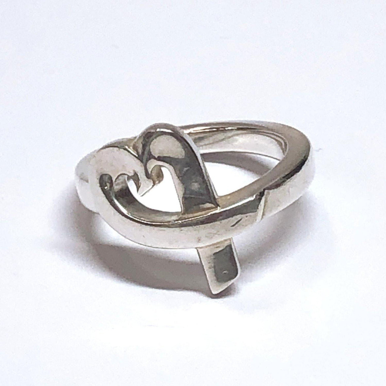 TIFFANY&Co. Ring Paloma Picasso Loving heart Silver925 C Silver Women Used - JP-BRANDS.com