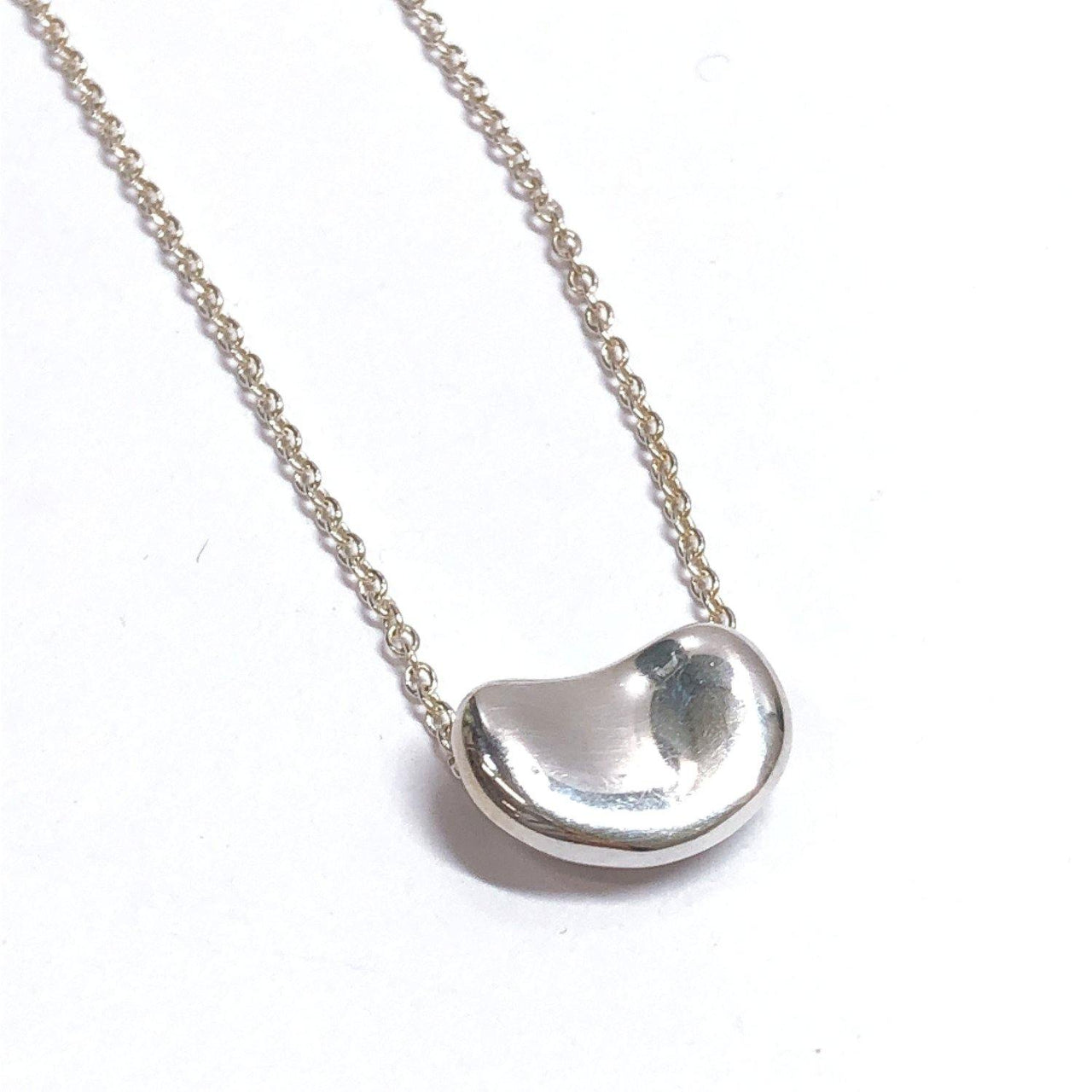 TIFFANY&Co. Necklace Beans Elsa Peretti Silver925 Silver Women Used - JP-BRANDS.com