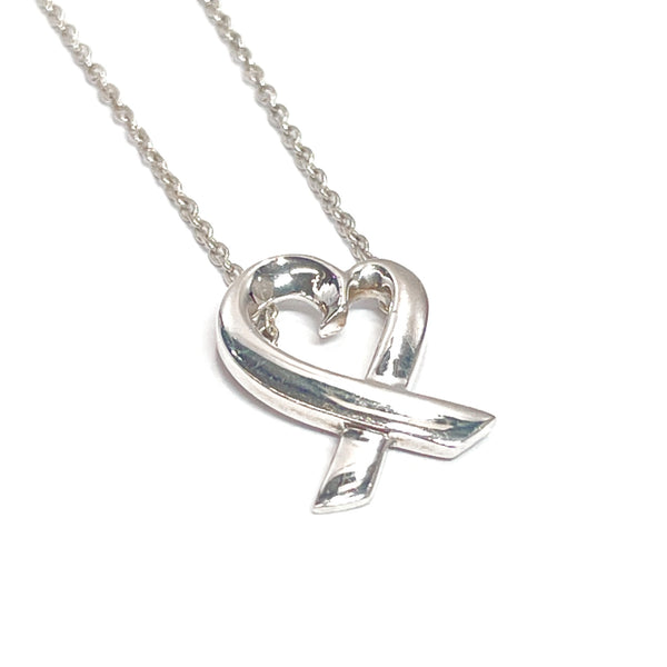TIFFANY&Co. Necklace Paloma Picasso Loving heart Silver925 Silver Women Used