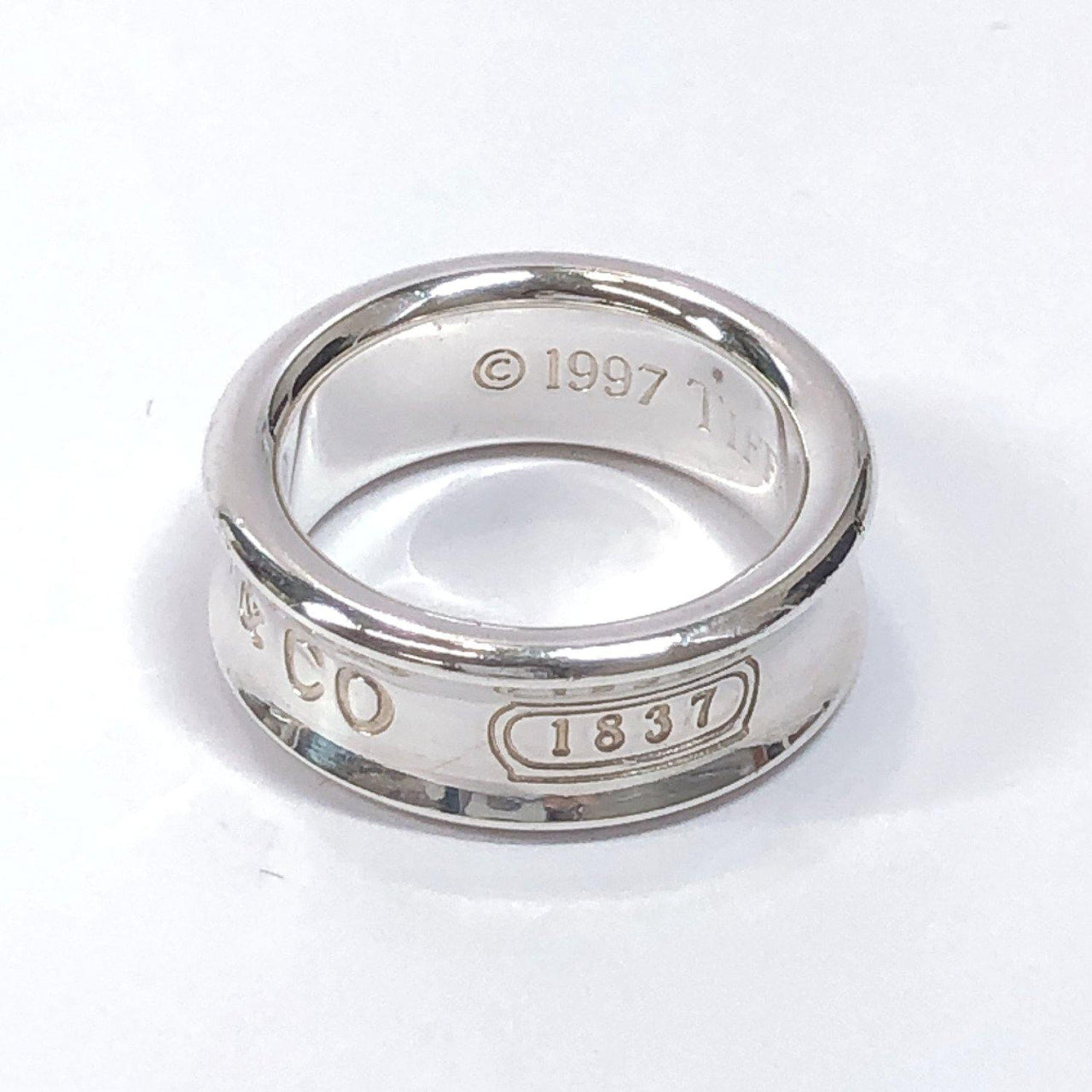TIFFANY&Co. Ring 1837 Silver925 C Silver Women Used - JP-BRANDS.com