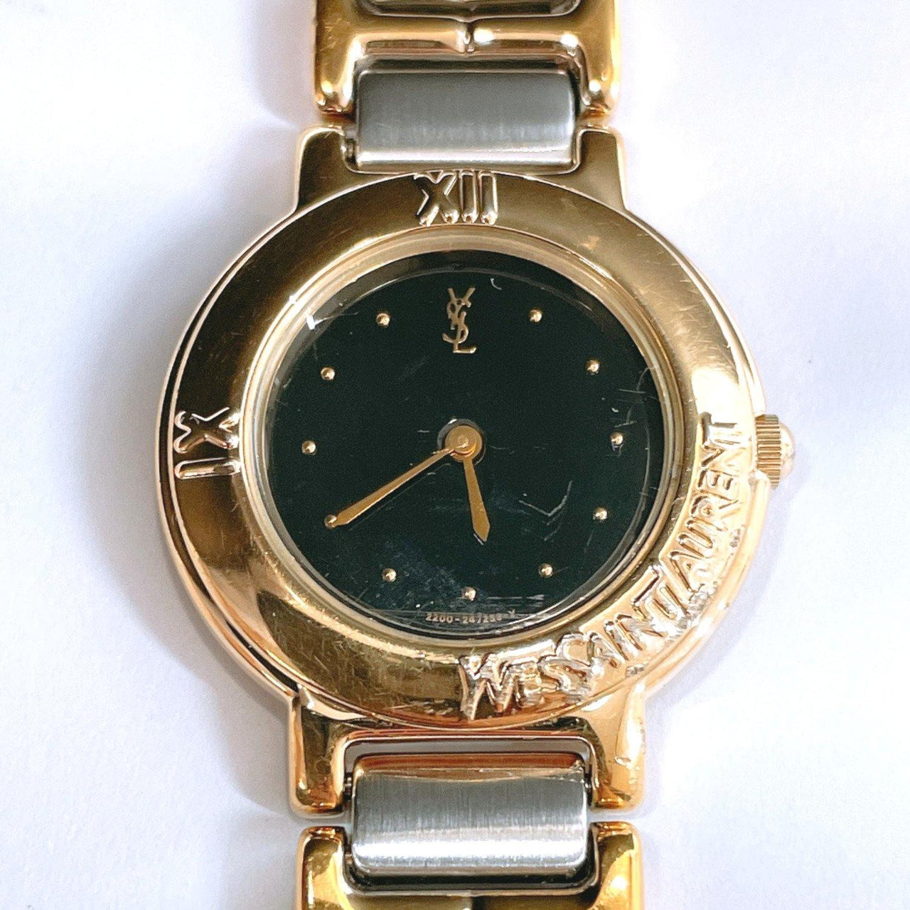 YVES SAINT LAURENT Watches 2200-229789 quartz Stainless Steel Silver Women Used - JP-BRANDS.com