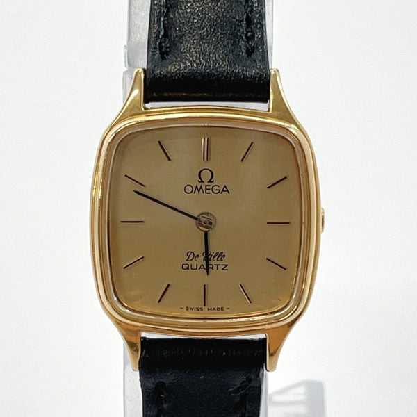 OMEGA Watches De Ville Vintage Stainless Steel gold 1350 Women Used