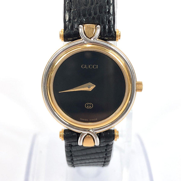 GUCCI Watches 4500L Quartz vintage Stainless Steel black Women Used - JP-BRANDS.com