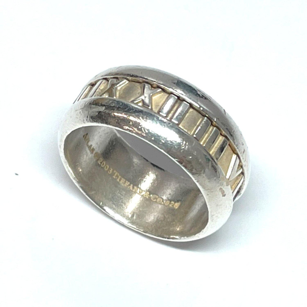 TIFFANY&Co. Ring Atlas Silver925 17 Silver mens Used - JP-BRANDS.com