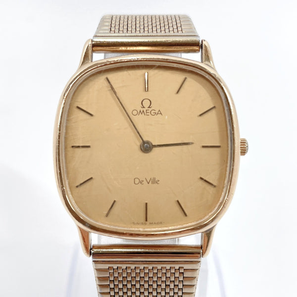 OMEGA Watches De Ville Quartz vintage Stainless Steel gold Women Used