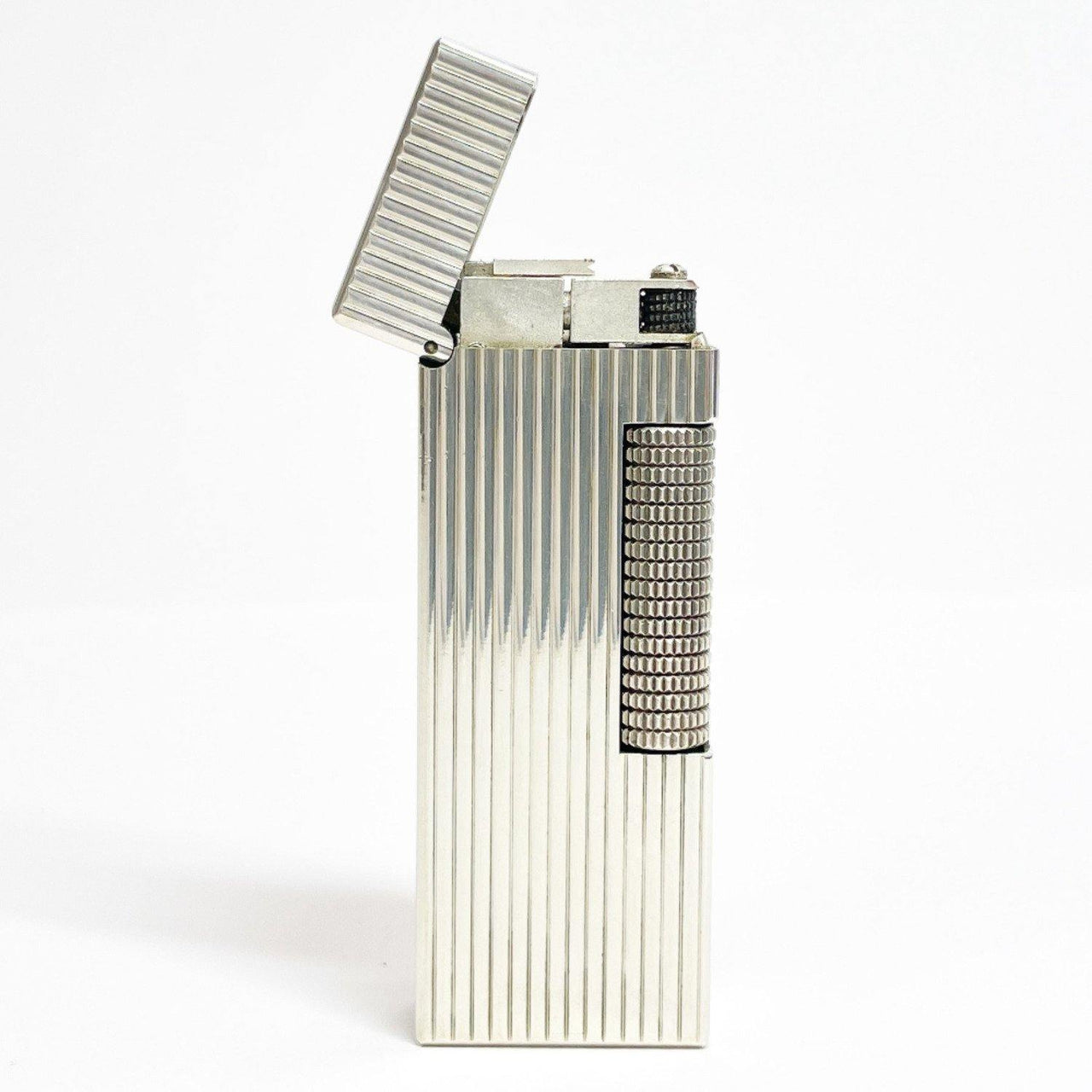 Dunhill lighter US. RE24163 Gas lighter metal Silver mens Used