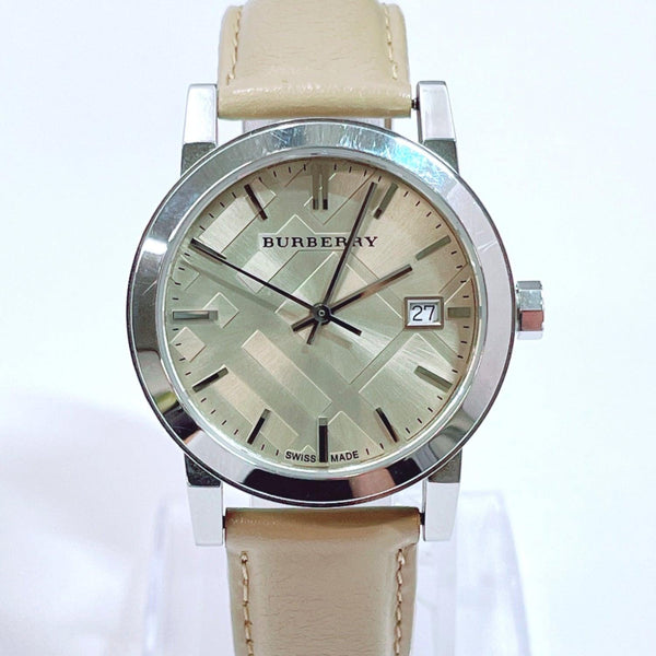 BURBERRY Watches BU9107 quartz Stainless Steel Silver Women Used