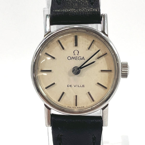 OMEGA Watches 625 De Ville Hand Winding vintage Stainless Steel Silver Women Used