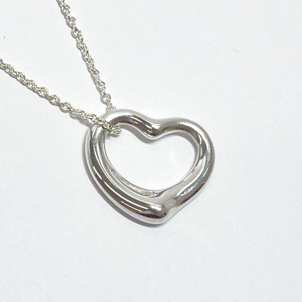 TIFFANY&Co. Necklace Open heart Elsa Peretti Silver925 Silver Women Used