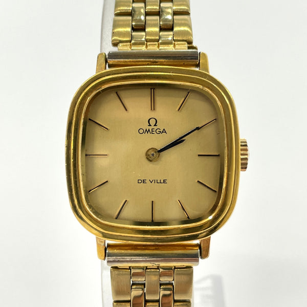 OMEGA Watches 625 De Ville Hand Winding vintage Stainless Steel gold Women Used