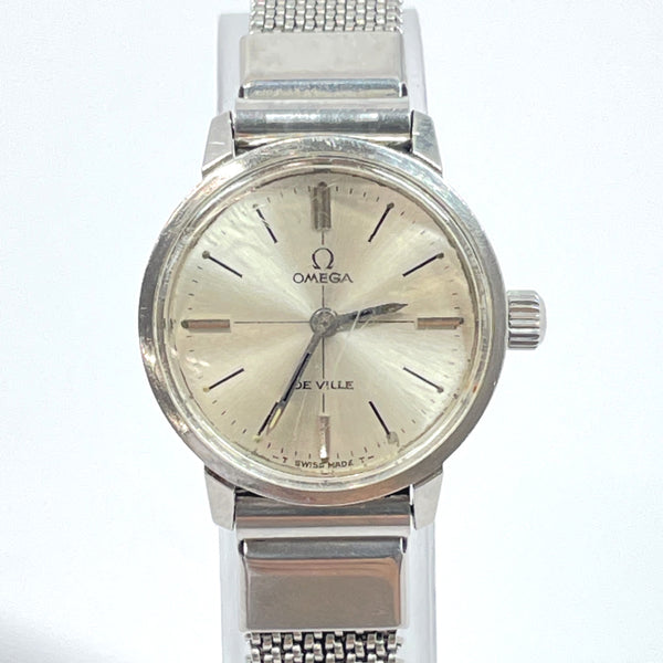 OMEGA Watches De Ville Hand Winding vintage Stainless Steel Silver Women Used