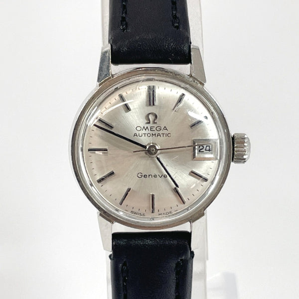 OMEGA Watches 681 Geneva Mechanical Automatic vintage Stainless Steel Silver Women Used