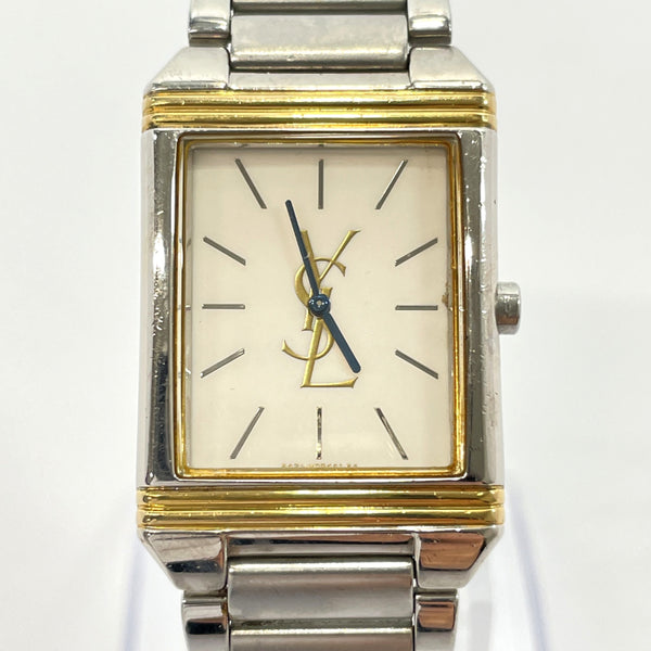 YVES SAINT LAURENT Watches 5421-H04724Y Quartz vintage Stainless Steel Silver Women Used