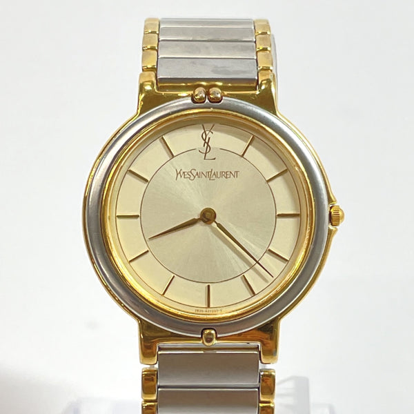 YVES SAINT LAURENT Watches 2823-268440 Quartz vintage CITIZEN WATCH CO Stainless Steel Silver gold Women Used