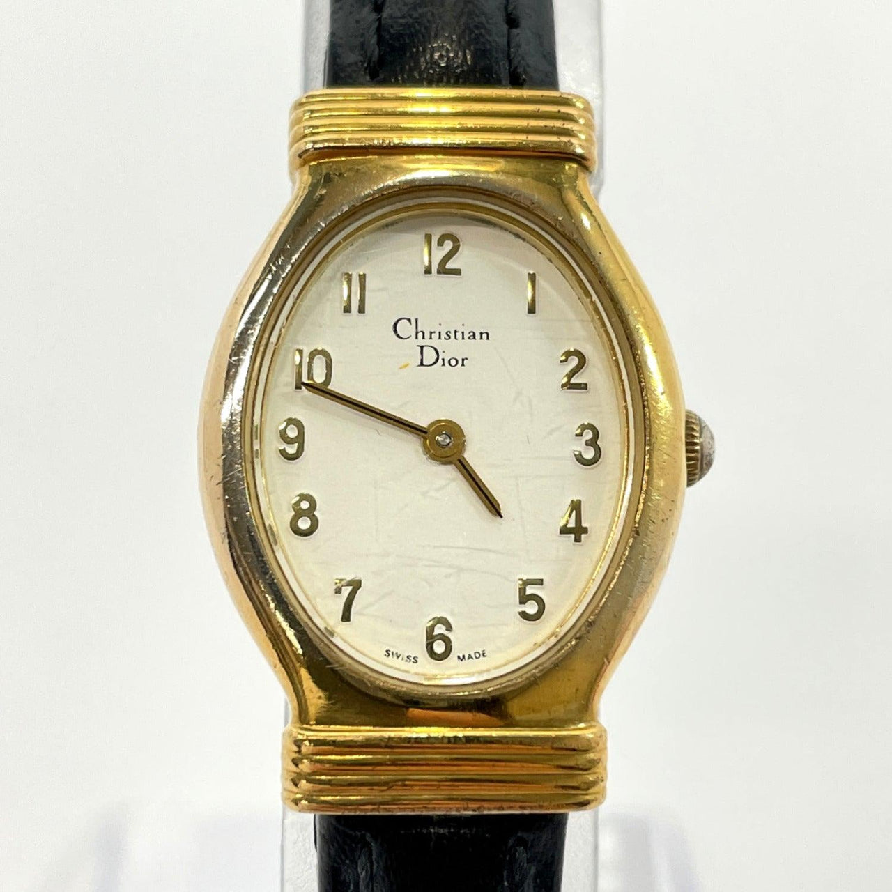 Christian Dior Watches 3009 quartz vintage Stainless Steel gold Women Used