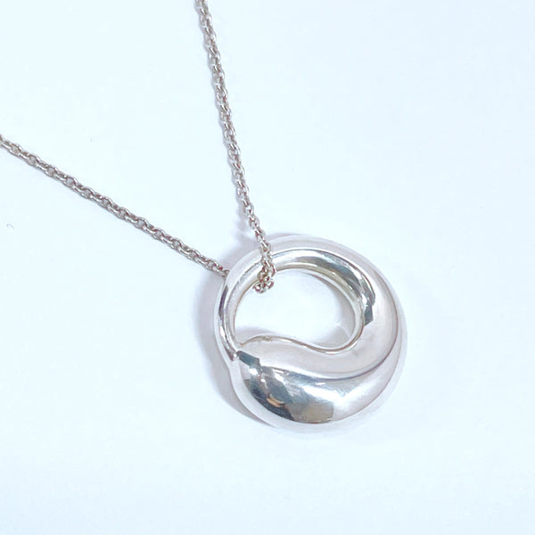 TIFFANY&Co. Necklace Eternal circle Elsa Peretti Silver925 Silver Women Used