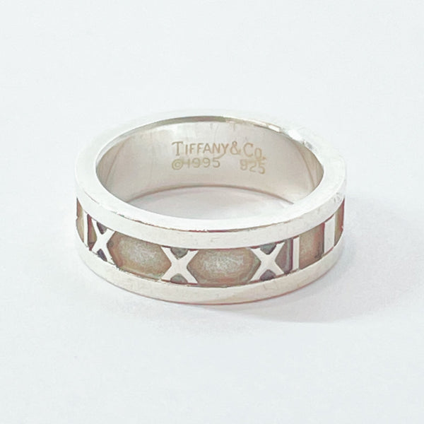 TIFFANY&Co. Ring Atlas Silver925 12 Silver Women Used