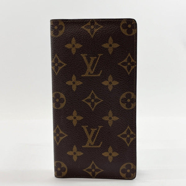 LOUIS VUITTON purse M60825 Porto Cult Credit Bill Compartment Vintage Monogram canvas Brown mens Used