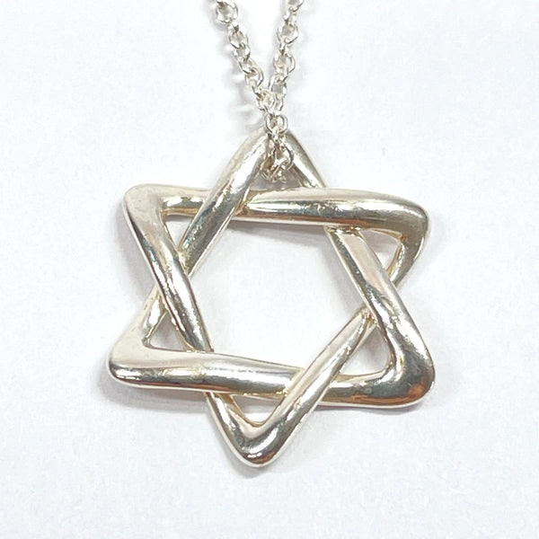 TIFFANY&Co. Necklace Star of david Elsa Peretti Silver925 Silver Women Used