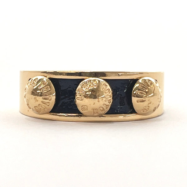 LOUIS VUITTON Ring M66421 Berggimia Ring metal 11 gold Black Women Used
