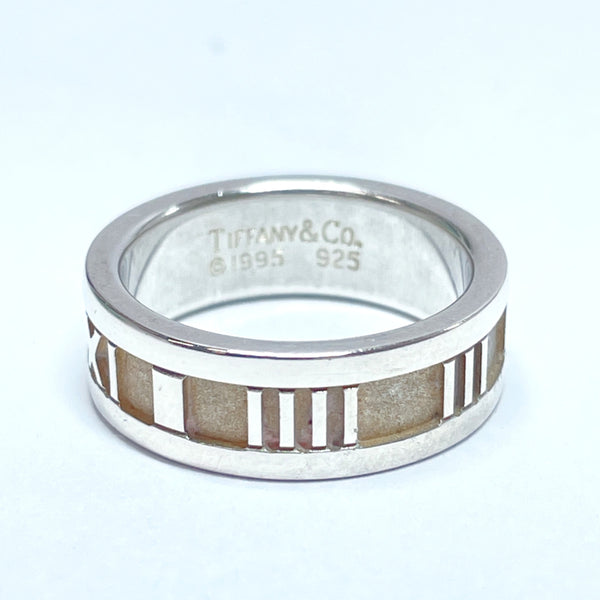 TIFFANY&Co. Ring Atlas Silver925 9 Silver Women Used