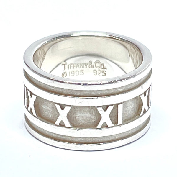 TIFFANY&Co. Ring Atlas Silver925 14 Silver Women Used