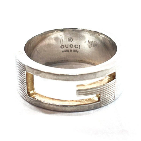 GUCCI Ring Silver925 14 Silver Women Used