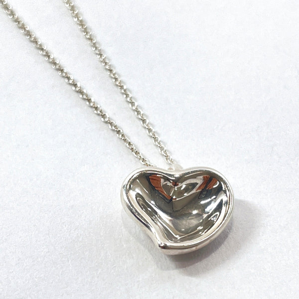 TIFFANY&Co. Necklace Full heart Elsa Peretti Silver925 Silver Women Used