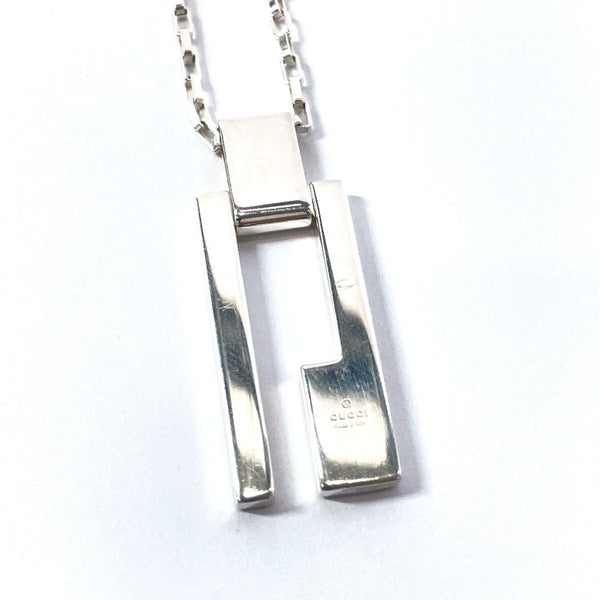 GUCCI Necklace G plate Silver925 Silver mens Used