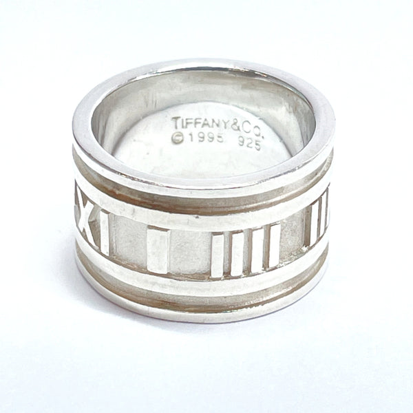 TIFFANY&Co. Ring Atlas Silver925 10 Silver Women Used