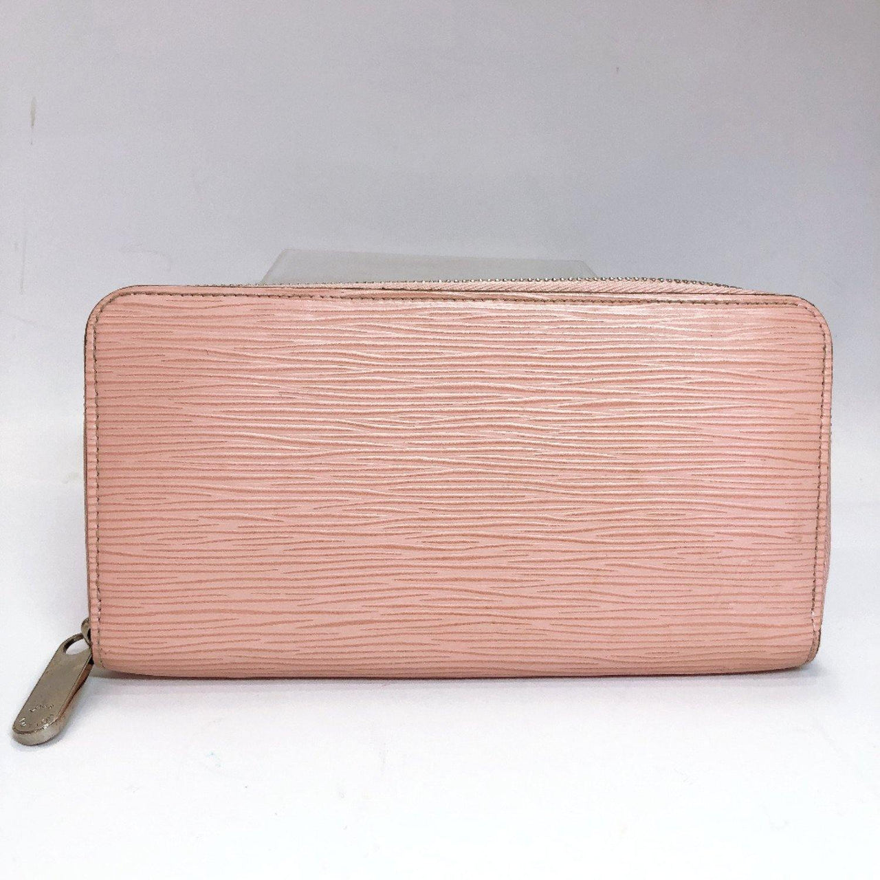 LOUIS VUITTON purse M60663 Zippy wallet Epi Leather pink Coraille Women Used - JP-BRANDS.com