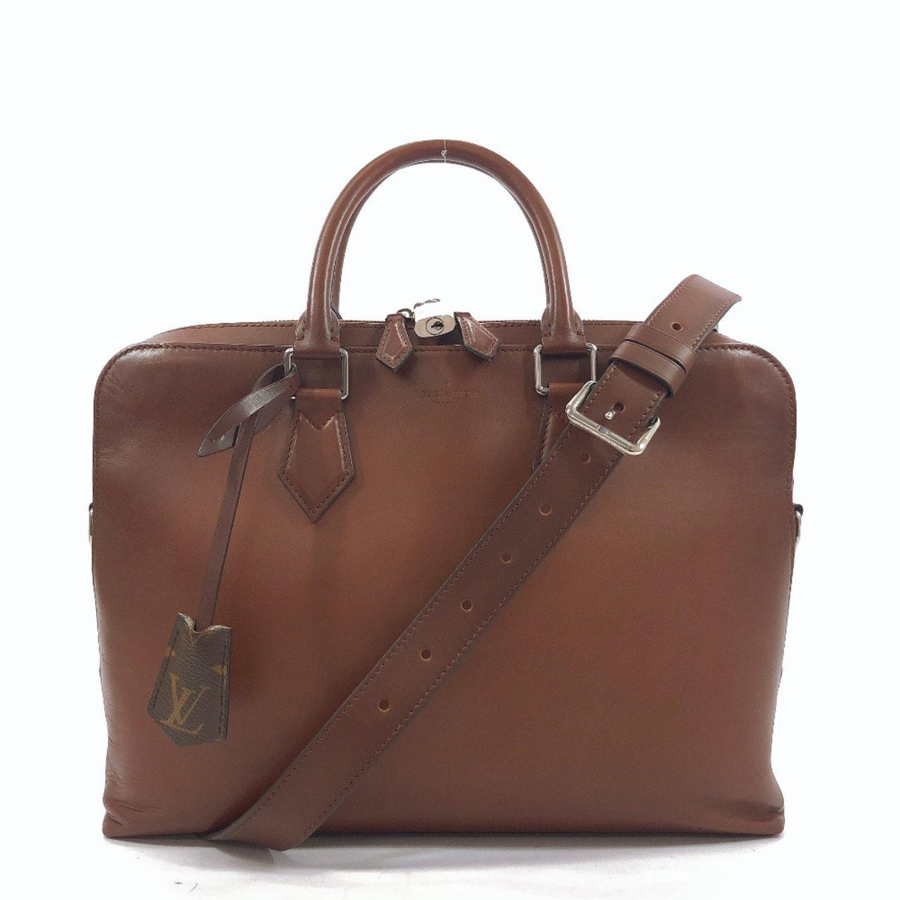 LOUIS VUITTON Business bag M51370 Armando Briefcase PM Ombre Calfskin Brown mens Used - JP-BRANDS.com