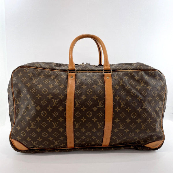 LOUIS VUITTON Boston bag M41404 Sirius 55 vintage Monogram canvas Brown mens Used