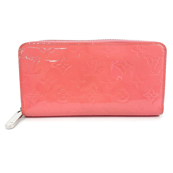 LOUIS VUITTON purse M93058 Zippy wallet Vernis pink Women Used
