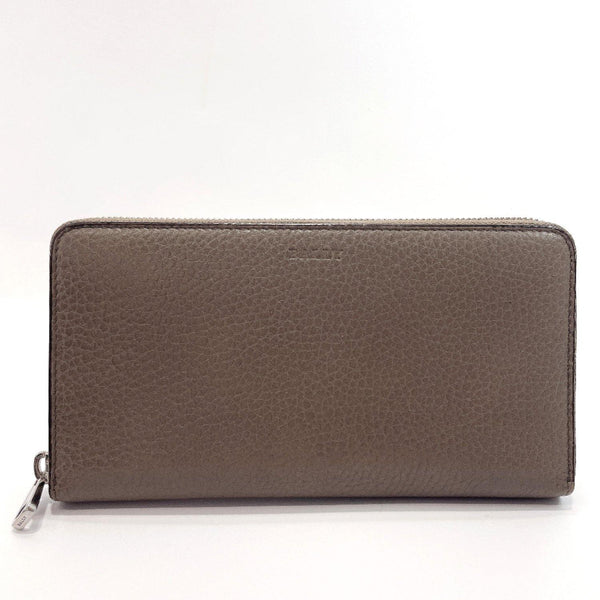 BALLY purse Zip Around SELEN GG leather gray mens Used - JP-BRANDS.com