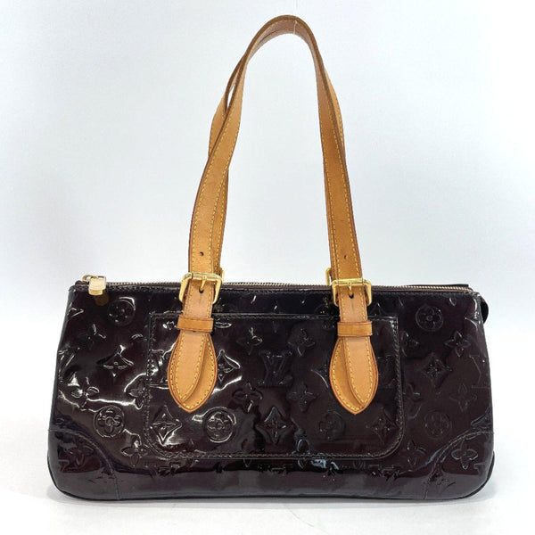LOUIS VUITTON Handbag M93510 Rosewood Avenue Monogram Vernis purple Women Used