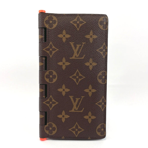 LOUIS VUITTON purse M67449 Portefeiulle Brother hinge Monogram Solar Powered Ray Monogram canvas Brown mens Used
