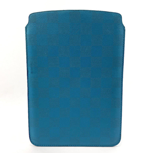 LOUIS VUITTON Other accessories iPad mini case Damier Infini blue unisex Used